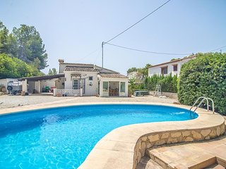 Villa Valle Verde en Benissa,Alicante para 4 huespedes