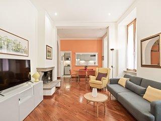 Bright 120 sqm flat in San Giovanni