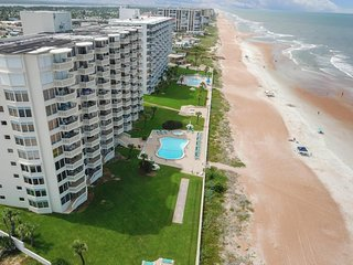 NEW LISTING! Beachfront condo with shared pool and stunning ocean views!