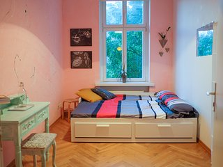 your room with double bed