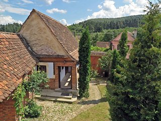 • Casa Lopo • in a quaint Carpathian village • farmhouse rental Sibiu Romania