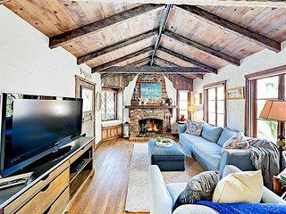 Historic 3BR Cottage w/ Brick Patios & Fireplace - Walk to Boardwalk