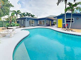 Walk to Wilton Manors Eateries! 2BR Triplex w/ Pool - 4.5 Miles to  Beach