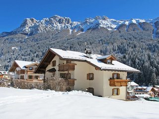 4 bedroom Apartment in Soraga, Trentino-Alto Adige, Italy : ref 5655391
