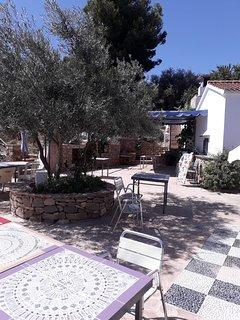 The new restaurant,  la Venta de Jeva has newly opened this year, 2018. 20 metres from the villa.