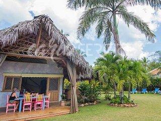 COLIBRI, villa 2 chambres, 8 personnes, à 200 m de la mer à Playa Bonita