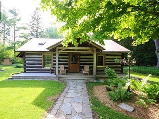 Cozy Log Cabin - walking distance to Lake Huron
