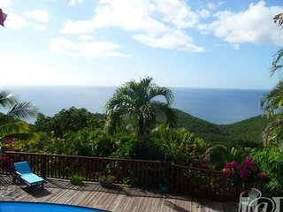 Villa Fleur de Lune - Vue mer - piscine