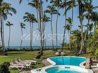CLARA IÑES, villa en bord de mer sur Playa Bonita, 5 chambres, 18 personnes