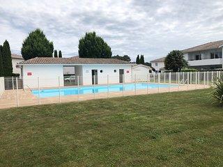 La Teste de Buch Cazaux, Appartementt T2, jardin, piscine pour 2/4 personnes