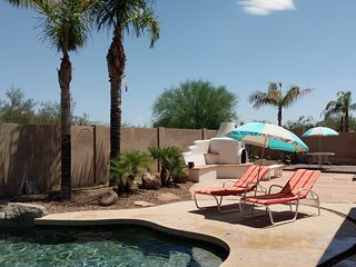 Almost all inclusive in Mesa! & heated pool! Near Superstition Mtns.