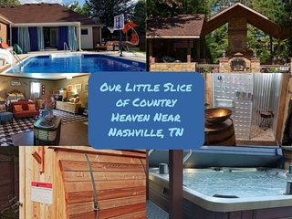 Our Little Slice of Country Heaven Near Nashville, TN