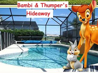 Kissimmee-Gated-10 to min Diz-South Pool-Game Room-Bambi & Thumpers Hideaway