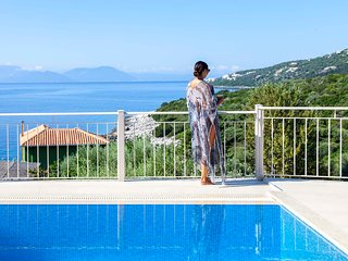 Brand new 3 bedroom villa with sea access in Sivota Lefkada