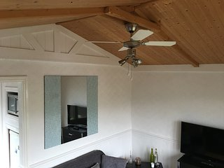 Lounge with Ceiling fan