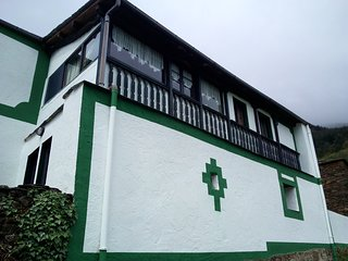 casa rural Stella Tetra en Gio,apt3, parque historico del Navia - Asturias