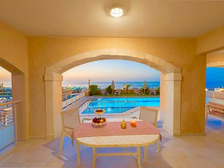Beachfront Villa Avra with private swimming pool