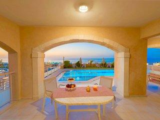 Beachfront Villa Avra with private swimming pool