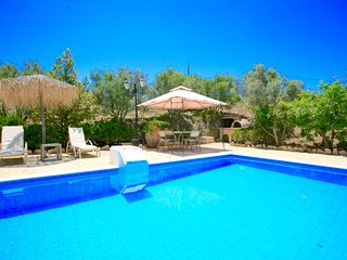 Traditional Villa Elaia with private swimming pool