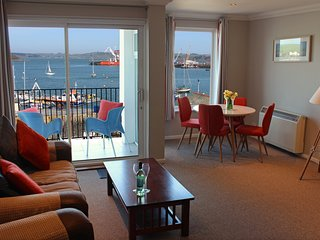 St Keverne - penthouse waterfront apartment