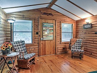 NEW! Abita Springs Cabin w/ Pool & Hot Tub Access