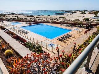 Luxus Strand Apartmentt mit unvergesslichen Blicken uber die Lagunen von Cotillo