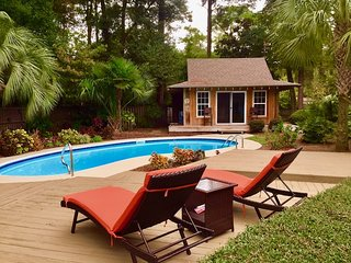 Peaceful Beach Retreat with Private Pool,Centrally located, Close to Attractions
