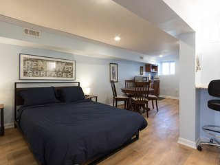 Fun DC apartment w/ parking designed just for you!