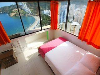 Apartamento frente y vista al mar 1601M