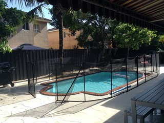 Spacious house, private pool, AC, free WIFI, residential location, south Miami