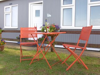 Kooks Cabin at Bideford Bay Holiday Park. Devon
