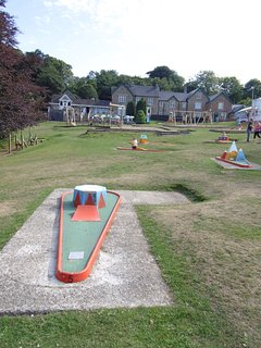 Have a go at crazy golf