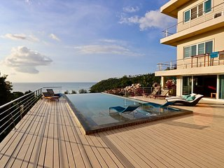 Koh Phangan- Stunning Ocean View -The Boathouse Villa Haad Salad- POOL TABLE