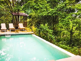 Exclusive Balinese Style Jungle Paradise Villa with horses, monkeys, and sloths!