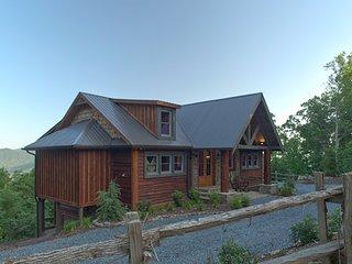 Cohutta Sunset - Cabin