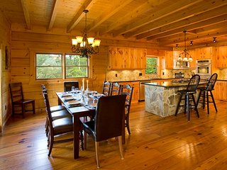 Open Floor Plan & Breakfast Bar Make It Easy to Socialize While Preparing Meals