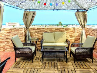 Apartment Triana II, La Zenia - Apt with Pool, Sea Views, WiFi, UK & Spanish TV