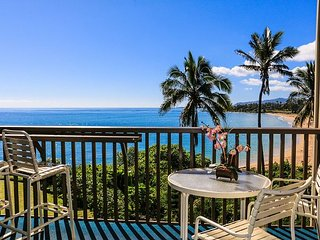 Air-conditioned, steps from the sand, beach side charm with VIEW
