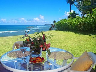 Oceanfront privacy, ground floor with nobody above you, romance and views!