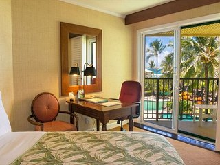 Kauai Beach Resort 2544: Beachside resort with many amenities and low rates!