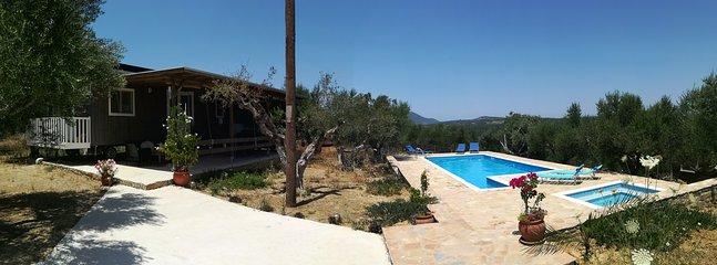 gipsy caravan Agalia & piscine