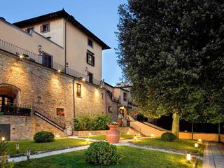 47 bedroom Villa in Montaione, Tuscany, Italy : ref 5654283