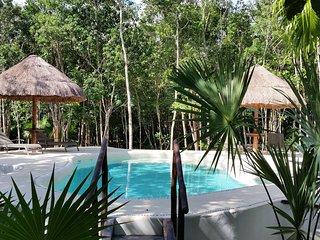 Pura Vida Cancun - Grande chambre d'hôtes dans la jungle