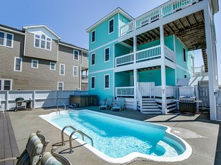 Peeps and Pirates | 400 ft from the beach | Private Pool, Hot Tub | Nags Head