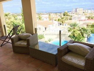 Villa con vista al mar y Peñón de Ifach en Calpe!