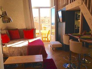 Appartement ville Monaco Beausoleil, 2 pas Monaco parking domicile 20E par jour