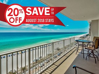 20% OFF Aug! GULF VIEW DELUXE Beach Condo * Resort Pool/Spa + FREE VIP Perks!