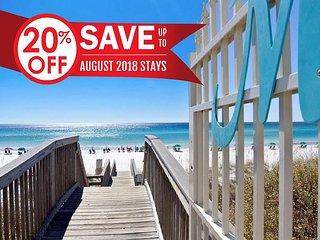 20% OFF Aug!!! FREE Beach Service + Pool, Hot Tub, & More! + FREE VIP PERKS!!