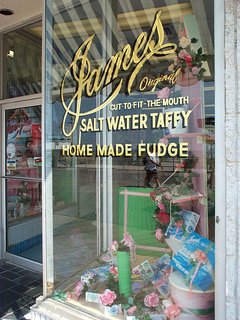 Famous Salt Water Taffy and Candy on the AC Boardwalk!