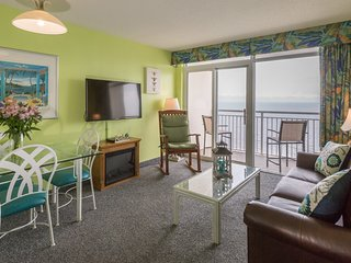 Oceanfront Suite with Full Kitchen + Private Balcony | Indoor Pools On-Site